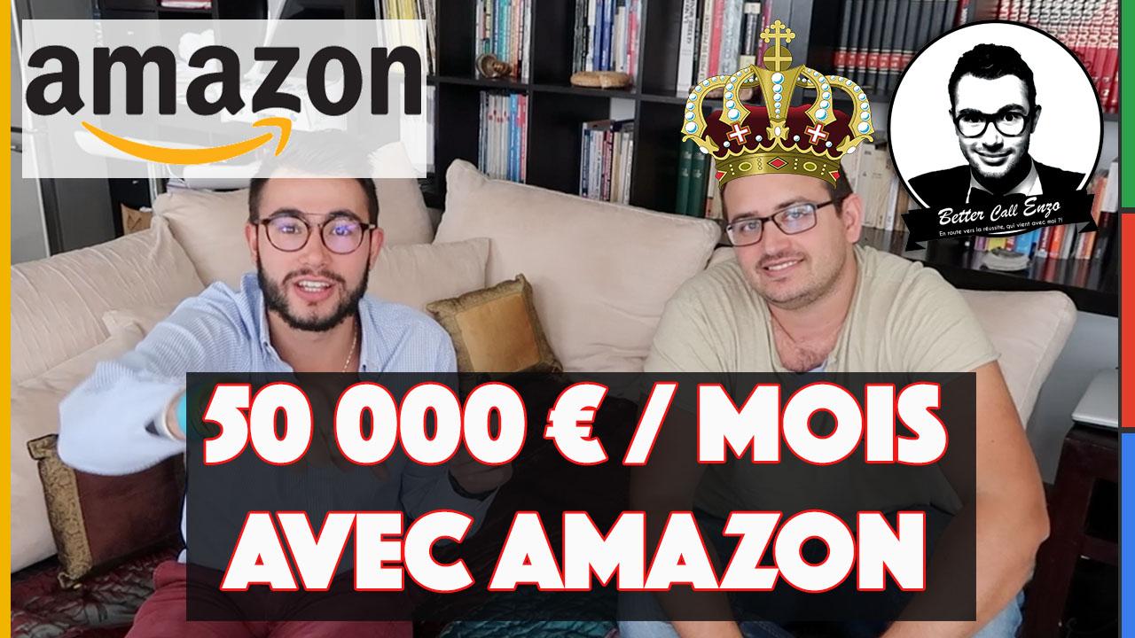 50 000€ par MOIS grâce à Amazon FBA avec Yannick Chastin